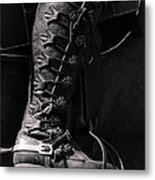 Medieval Faire Boot Detail Metal Print