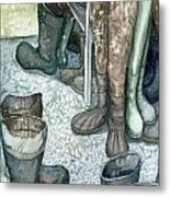 Boot Room Metal Print
