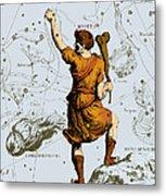 Bootes Constellation, 1687 Metal Print
