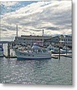 Boothbay Harbor 0231 Metal Print