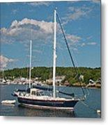 Boothbay Harbor 1390 Metal Print