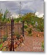 Boothill Cemetary Image Metal Print