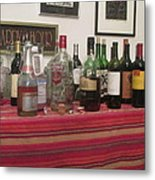 Booze At The Party Metal Print