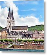 Boppard, Germany, Rhineland-palatinate Metal Print
