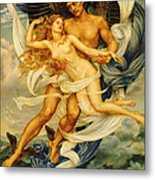 Boreas And Orietyia Metal Print