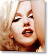 Born Blonde - Or Was She? Metal Print