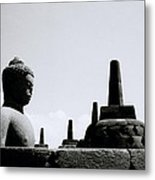 The Contemplation Of The Buddha Metal Print