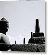 The Meditation Of The Buddha Metal Print