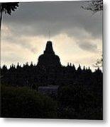 Borobudur Temple Metal Print by Achmad Bachtiar