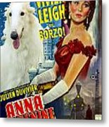 Borzoi Art - Anna Karenine Movie Poster Metal Print