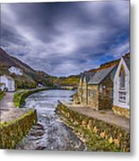 Boscastle Harbour Metal Print