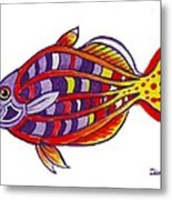 Boseman's Rainbowfish Metal Print