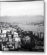 Bosphorus View Metal Print