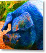 Boss Hog - 2013-0108 Metal Print by Wingsdomain Art and Photography