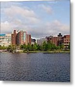 Boston - Zakim Bridge Metal Print