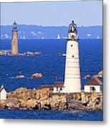 Boston And Graves Light Metal Print