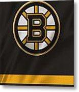 Boston Bruins Uniform Metal Print