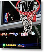Boston Celtics' Basket Metal Print
