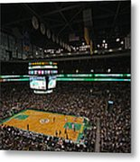 Boston Celtics Basketball Metal Print
