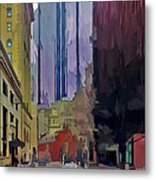 Boston City Centre 2 Metal Print by Yury Malkov
