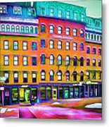 Boston Colors 1 Metal Print by Yury Malkov