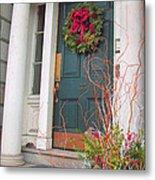 Boston Doorway Two Metal Print