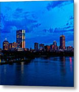 Boston Evening Metal Print