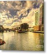 Boston Harbour  Metal Print