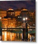 Boston Lagoon Bridge 2 Metal Print by Joann Vitali