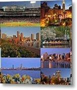 Boston Landmarks Photography  Metal Print by Juergen Roth