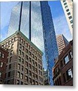 Boston Ma Architecture Metal Print