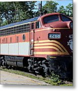 Boston - Maine No 4268 Metal Print