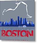 Boston Marathon3 Metal Print