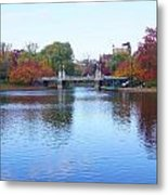 Boston Public Garden Lake Metal Print