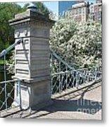 Public Garden - Boston Massachusetts Metal Print