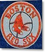 Boston Red Sox Metal Print by Dan Sproul