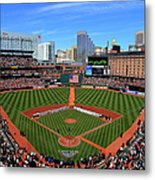 Boston Red Sox V Baltimore Orioles Metal Print