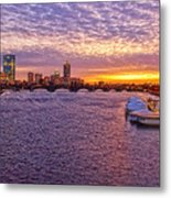 Boston Sky Metal Print by Joann Vitali