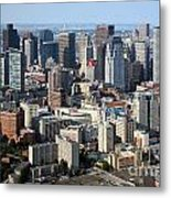Boston Skyline Metal Print