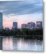 Boston Skyline IIi Metal Print