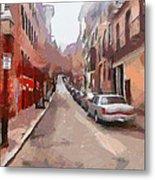 Boston Streets 1 Metal Print by Yury Malkov