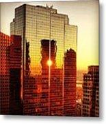 Boston Sunrise Metal Print