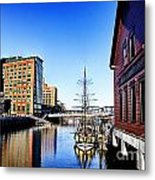Boston-teaparty V2 Metal Print