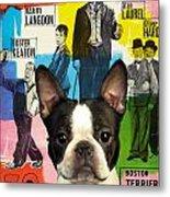 Boston Terrier Art - 30 Years Of Fun Movie Poster Metal Print