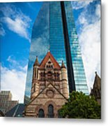 Boston Trinity Church Metal Print