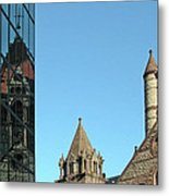 Boston Unity Reflected 2853 Metal Print