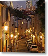 Boston View From Charlestown Metal Print