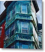 Boston's North End Metal Print