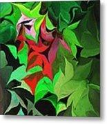 Botanical Fantasy 071613 Metal Print