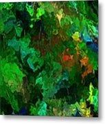 Botanical Fantasy 110413 Metal Print